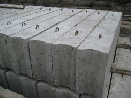 Блоки ФБС для фундамента