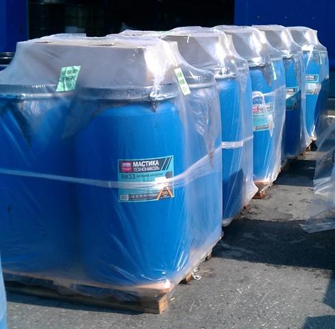 Обмазочная гидроизоляция фундамента технониколь 33