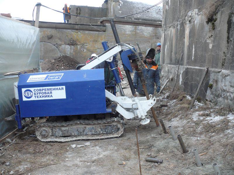 Усиление фундамента кирпичного дома методом инъектирования